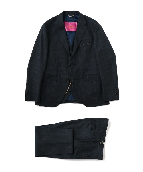 UNITED ARROWS & SONS(UNITED ARROWS&SONS)MILES/J SUIT 三件式西裝
