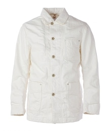 UNITED ARROWS & SONS  WHITE WORK JACKET