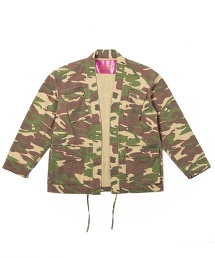 UNITED ARROWS & SONS CAMO DAMAGE TOMMY SHIRT 仿舊迷彩襯衫
