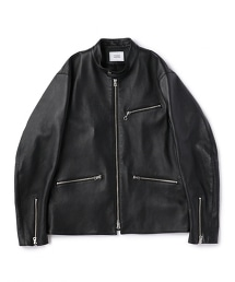 UNITED ARROWS & SONSLAMB RIDER JACKET 羊皮騎士外套