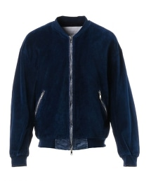 UNITED ARROWS & SONS INDIGO VT BOMBER JACKET 飛行員夾克