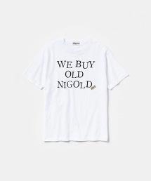 NIGOLD by UNITED ARROWS PRINT TEE 字母印花短袖T恤