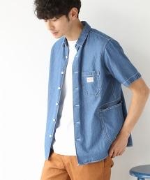 SMITH特別訂製短袖工裝襯衫18SS