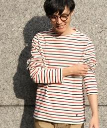 橫條紋長袖巴斯克衫(Basque shirt)