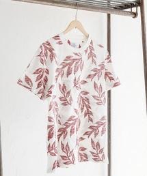 植物圖騰 圓領T恤