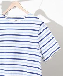 巴斯克橫條紋短袖T恤