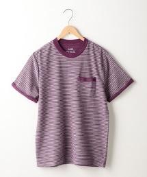 凹紋著色 圓領 T恤