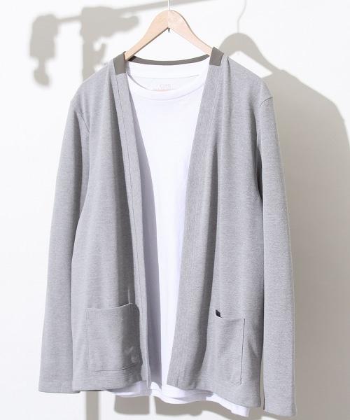 【機能素材】抗UV 聚脂棉對襟外套