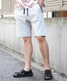 羅馬布 懶人短褲(灰色)