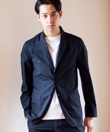 【套裝企劃】彈性高密度平織合身西裝外套