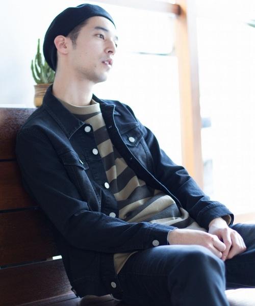 【套裝企劃】彈性丹寧外套