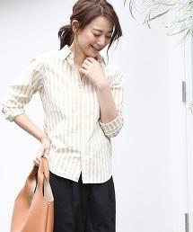 棉府綢襯衫