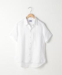 2WAY法國亞麻短袖襯衫