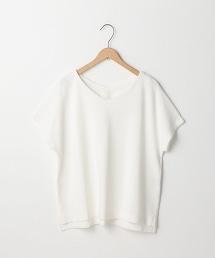 【『Liniere』6月號刊載】V領棉Tee(T恤)