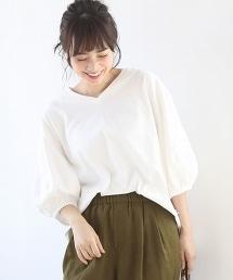 美國棉蓬鬆袖棉質T恤