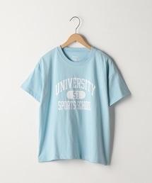 LOGO印花大學T恤