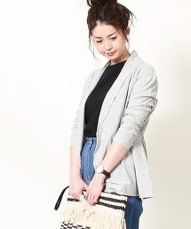 【『Liniere』6月號刊載】抗UV中長版對襟外套