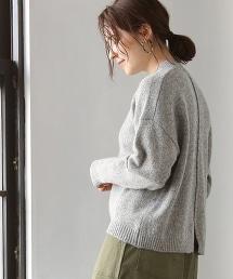 【可手洗】羔羊毛高領毛衣