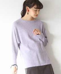 【可手洗】刷毛直筒毛衣