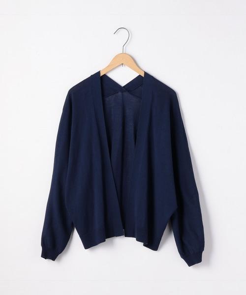 高捻棉短版土耳其袖子對襟外套