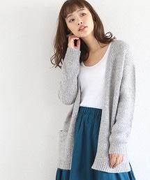 【可手洗】混色對襟外套