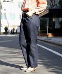 USA棉質高腰丹寧褲