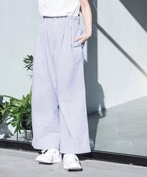 條紋時尚輕便褲EASY PANTS