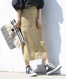 彈性工裝窄裙