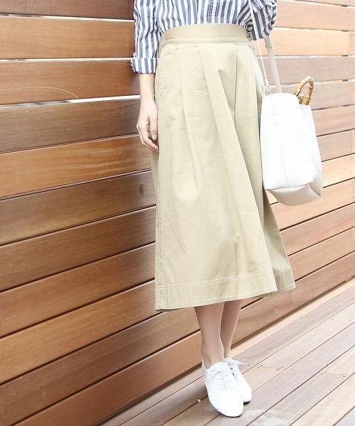 斜紋布荷葉裙