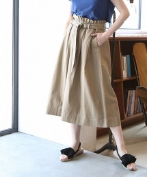 【『Liniere』6月號刊載】棉麻輕便荷葉裙