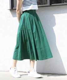 巴里紗長版荷葉裙