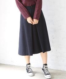 【可手洗】混羊毛打摺荷葉裙