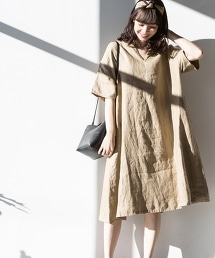 法國亞麻洋裝 I