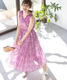 【『Liniere』6月號刊載】印花連身迷嬉長裙