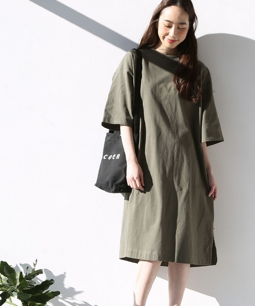USA美國棉寬版洋裝