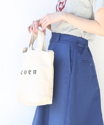 【2018春夏新品 S號】coen2WAY LOGO托特包