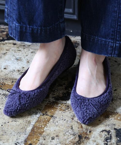 【2018FW新品】簇絨芭蕾舞鞋
