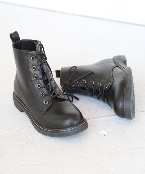 6孔綁帶靴(短靴)