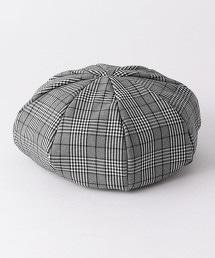 格紋貝雷帽