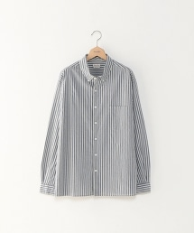 <Steven Alan> SCR/ST BOX SINGLE NEEDLE-BOLD SHIRT/扣領條紋襯衫