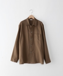 <Steven Alan> 20/- NEL SHIRT COVERALL/素面長袖襯衫