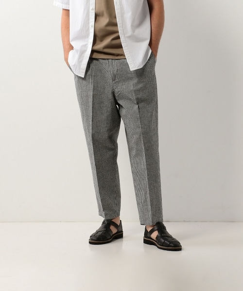 <Steven Alan> C/L MONO SUPER BAGGY TAPERED-ANKLE/九分褲