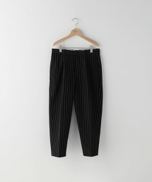 <Steven Alan> C/N STRIPE SUPER BAGGY TAPEREDII-A/九分褲