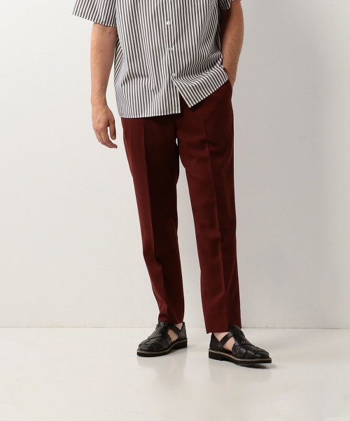 <Steven Alan> SMER T/W SLOW TAPERED-ANKLE PANTS/九分褲