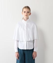 <Steven Alan>COTTON OX CAPE SHIRT/襯衫