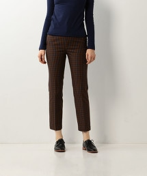 <Steven Alan>CHECK STRAIGHT TROUSERS/長褲
