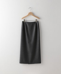 <Steven Alan>PINSTRIPE SAXONY TIGHT SKIRT/長窄裙