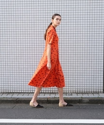 <Steven Alan>∴FLOWER LIBERTY PRINT DRESS/LIBERTY印花洋裝