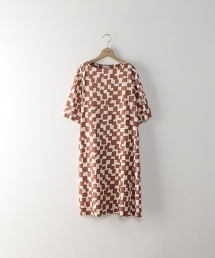 <Steven Alan>CHECKERED PATTERN DRESS/市松格紋洋裝
