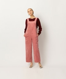 <Steven Alan>∴HEAVY CORDUROY ALL IN ONE PINK/燈芯絨連身褲